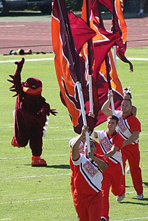 HokieBird Virginia Tech mascot