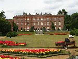 Hughenden Manor - Hughenden Manor, the garden facade.