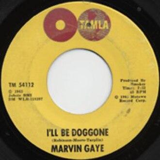 I'll Be Doggone - Image: I'll Be Doggone cover