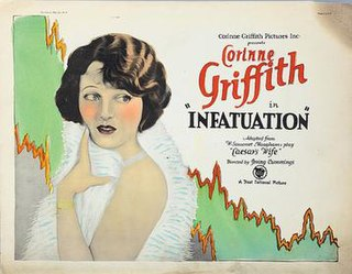 <i>Infatuation</i> (1925 film) 1925 film by Irving Cummings