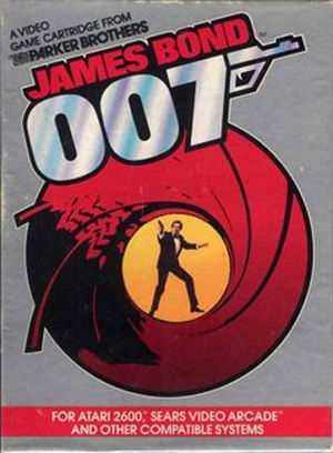 James Bond 007 (1983 video game) - Cover art