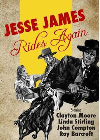Jesse James Rides Again - Image: Jesse James Rides Again Video Cover