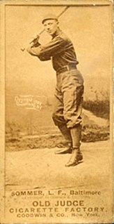 Joe Sommer American baseball player