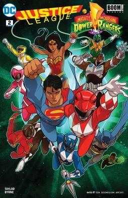 Justiceleaguepowerrangers