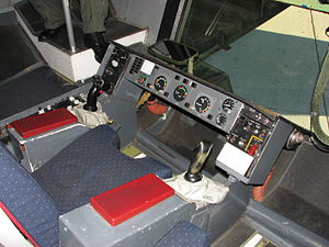 Boom operator (US military) - The aerial refueling operator's station in a USAF KC-10. The boom operator is seated while refueling.