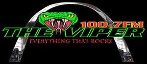 KFNS-FM - Image: KFNS 100.7The Viper logo