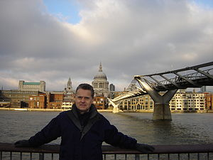 Keith Wilkinson (reporter) - Image: Keith Wilkinson (reporter), London