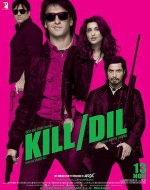 Kill Dil - Image: Kill Dil
