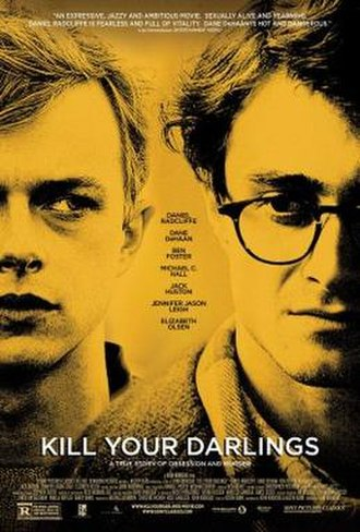 Kill Your Darlings (2013 film) - Theatrical release poster