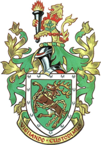 Kingswood Borough - The arms of Kingswood Borough Council