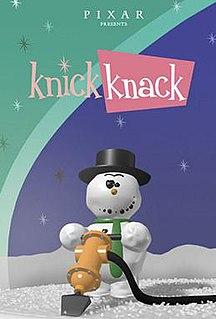 <i>Knick Knack</i> 1989 film directed by John Lasseter