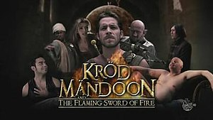 Kröd Mändoon and the Flaming Sword of Fire - Image: Krod Title