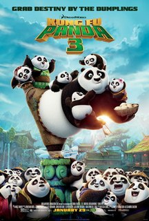 <i>Kung Fu Panda 3</i> 2016 film directed by Jennifer Yuh Nelson and Alessandro Carloni