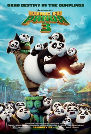 Kung Fu Panda 3 - Theatrical release poster