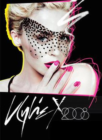 KylieX2008 - Image: Kylie X2008 promotional poster