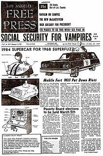 <i>Los Angeles Free Press</i> Defunct American underground newspaper