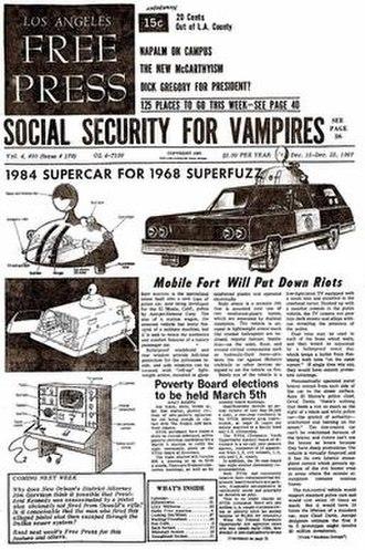 Underground press - LA Free Press (December 15–22, 1967)