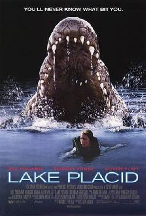 Lake Placid (film) - Theatrical release poster
