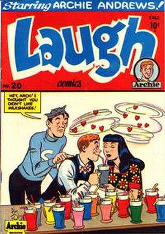 Laugh Comics - Image: Laugh Comics 20