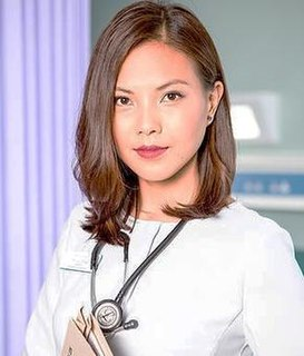 Lily Chao Fictional registrar emergency medic in BBC TV medical drama Casualty