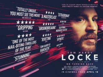Locke (film) - Theatrical release poster