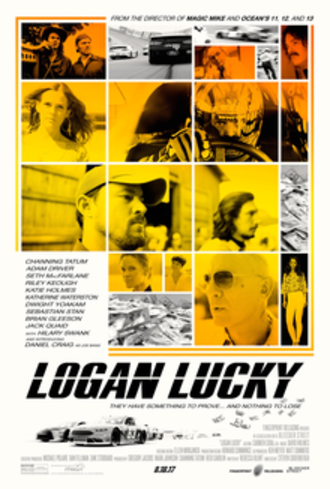 Logan Lucky - Theatrical release poster