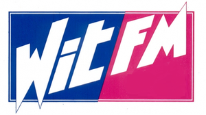 Wit FM - Image: Logo Wit FM 1990