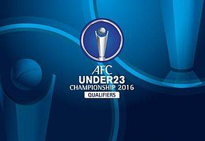 2016 AFC U-23 Championship qualification - Official logo of the 2016 AFC U-23 Championship Qualification.