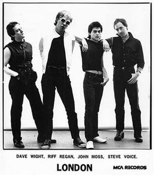 Jon Moss - Jon (second from right) with London