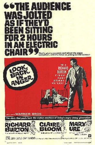 Look Back in Anger (1959 film) - Theatrical release poster
