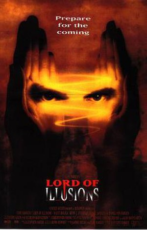 Lord of Illusions - Theatrical release poster
