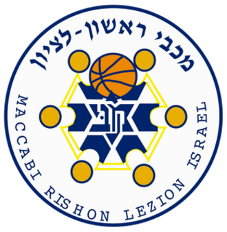 Maccabi Rishon LeZion (basketball) - The logo that the team used until 2017