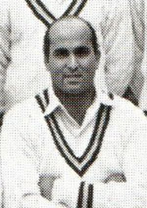 Mahmood Hussain (cricketer) - Mahmood Hussain in 1962