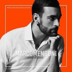 Le cose che non ho - Image: Marco Mengoni Le cose che non ho (cover)