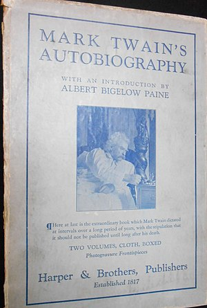 Autobiography of Mark Twain - 1924 edition