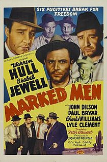 <i>Marked Men</i> (1940 film) 1940 film by Sam Newfield