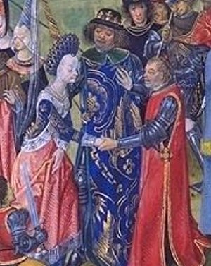 Alice de Bryene - The wedding of Isabella and Richard II, mentioned in letters 6 and 8 of Alice de Bryene's letter-book
