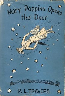 <i>Mary Poppins Opens the Door</i> British childrens fantasy novel