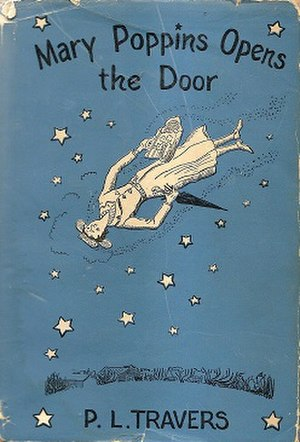 Mary Poppins Opens the Door - First edition cover