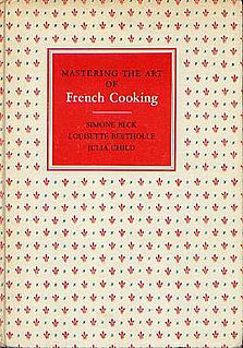 <i>Mastering the Art of French Cooking</i> book by Simone Beck, Louisette Bertholle and Julia Child