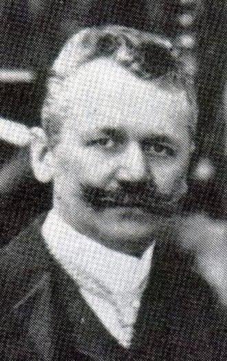 Max Fremery - Fremery in 1906