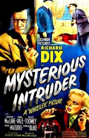 Mysterious Intruder - Theatrical release poster