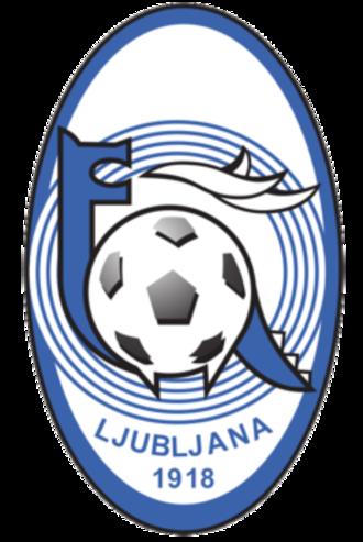 NK Ljubljana - Image: NK Ljubljana old logo 1
