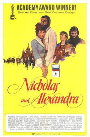 Nicholas and Alexandra - Original theatrical release poster