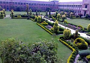 Nishtar Medical University -  Quadrangle of Nishtar Medical College