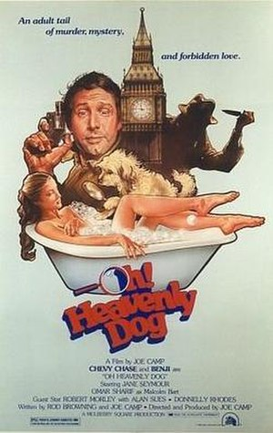 Oh! Heavenly Dog - Promotional movie poster for the film
