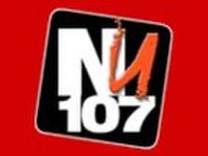DWNU - Image: Original NU 107 logo