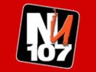NU 107 - Image: Original NU 107 logo