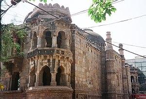 Moth ki Masjid - Outer wall of the Masjid