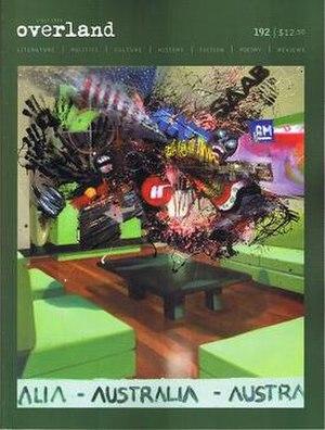 Overland (magazine) - Spring 2008 cover
